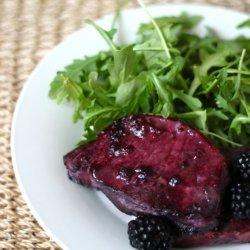 Blackberry Pork Chops recipe
