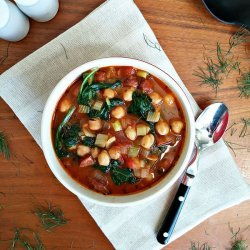 Chickpea and Sausage Stew