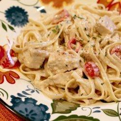 Garlic Chicken Alfredo