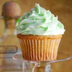 Key Lime Margarita Cupcakes With  Key Lime Frosting