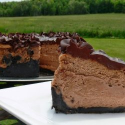 Ultimate Triple Chocolate Cheesecake