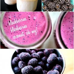 Black and Blue Smoothies