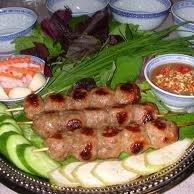 Nem Nuong (Vietnamese Grilled Pork Patties)