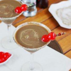Chocolate Covered Cherry Martini