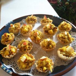 Curry Crab Appetizers