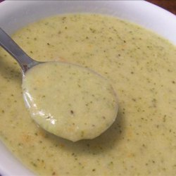 Cream of Broccoli Vegetable Cheese Soup