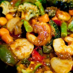 Szechuan Shrimp Stir-Fry recipe