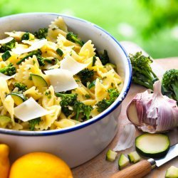 Courgette and Pasta Bake