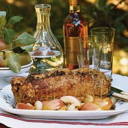 Apple and Cornbread Stuffed Pork Loin