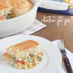 Yummy and Easy Chicken Pot Pie