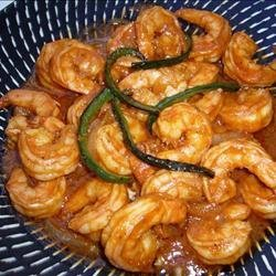 Shrimp a la Diablo recipe