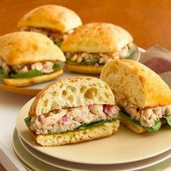 Tuscan White Bean and Tuna Sandwiches
