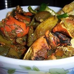 Spicy Crab Curry - Bangla Style recipe