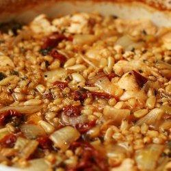 Barley Chicken Casserole recipe