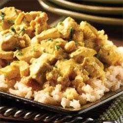 Turkey Curry with Cashews recipe