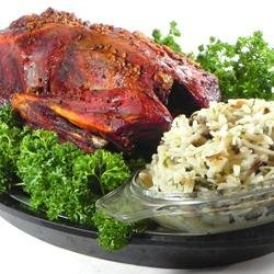 Buckshot Duck with Wild and Brown Rice Stuffing recipe