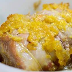 Orange Ginger Pork Roast