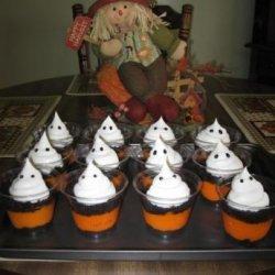 Spooktacular Halloween Pudding Cups
