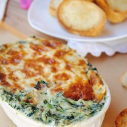 Hot & Cheesy Spinach Dip