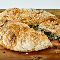 Spinach, Pine Nut, and Feta Pie