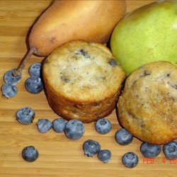 Blueberry Pear Muffins