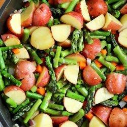 Cheesy Asparagus Soup