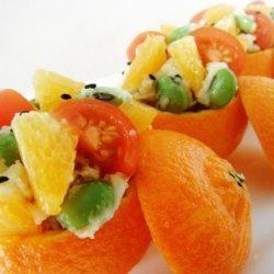 Cutie Orange Cup Potato Salad