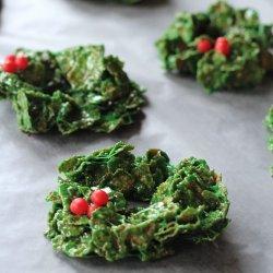 Christmas Wreath Cookies