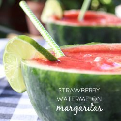 Watermelon Berry Margarita