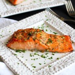 Baked Salmon Dijon