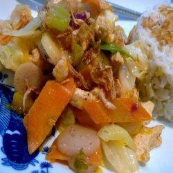 Mandarin Turkey Stir-Fry