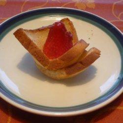 Gluten-Free Strawberry Toast Cups