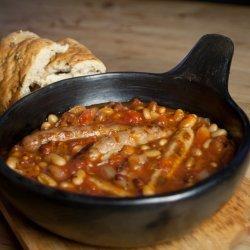 Sausage-Bean Casserole