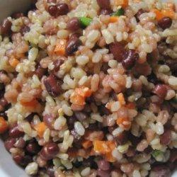 Adzuki Bean, Brown Rice Barley Salad