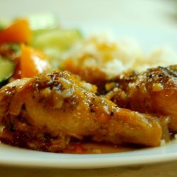 Rosemary-Orange Glazed Chicken
