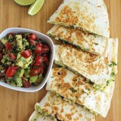 Corn and Zucchini Quesadillas
