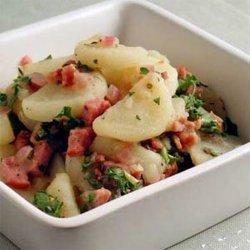 German Hot Potato Salad