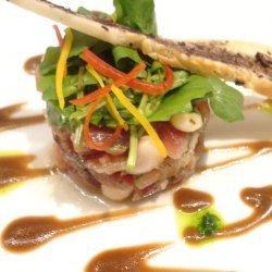 Seared Tuna With Green Salad