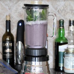 Blueberry-Almond Butter Smoothie