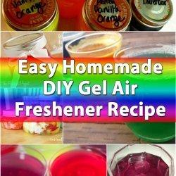 Homemade Gel Air Freshener