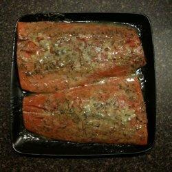 Marinated Cedar Plank Salmon