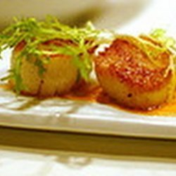 Red Curry of Scallops
