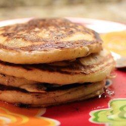 Healthy Chocolate Pancakes