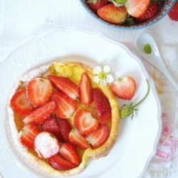 Dutch Baby With Strawberries recipe
