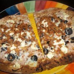 Tuna/Feta/Black Olive Pizza