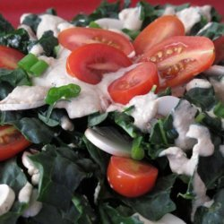 Calcium Rich Sesame Kale Salad recipe