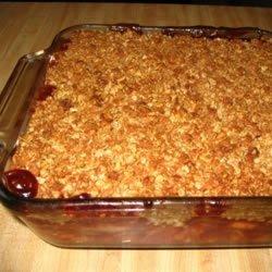 Apple Cranberry Crisp
