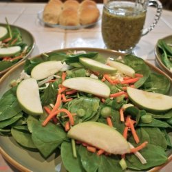 Apple Pear Salad W/ Poppy Seed Dressing