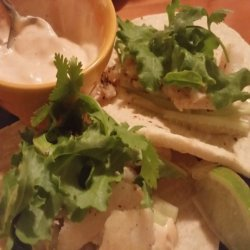 Chicharrones Fish Tacos With Chipotle Tartar Sauce
