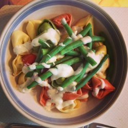 Quick and Easy Tortellini Salad